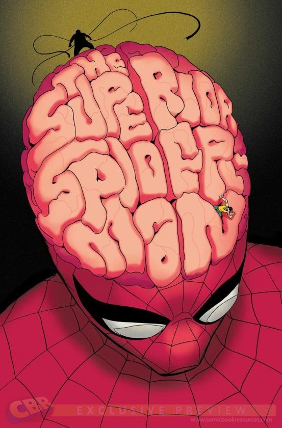 Portada de The Superior Spider-Man #9