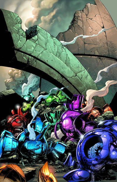 Portada de Green Lantern #19