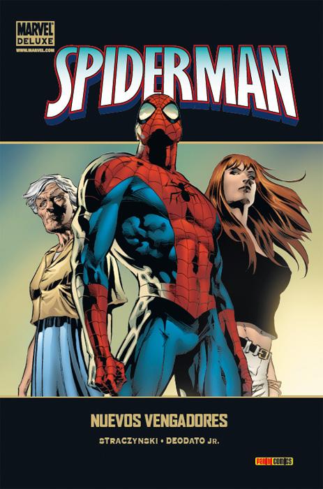 Portada de Marvel Deluxe: Spiderman - Nuevos Vengadores