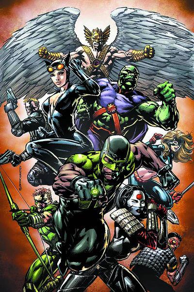 Portada de Justice League of America #2