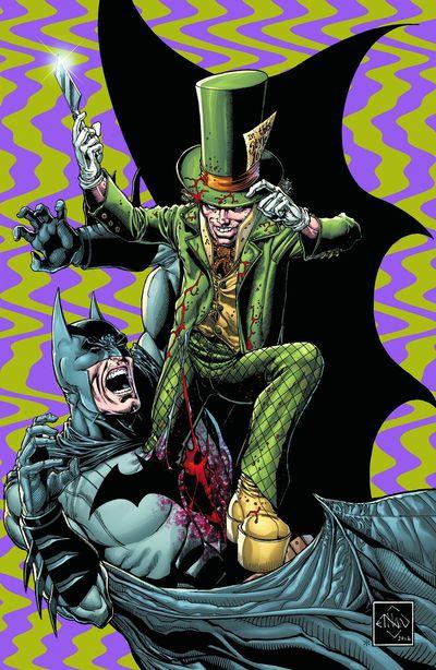 Portada de Batman the Dark Knight #18