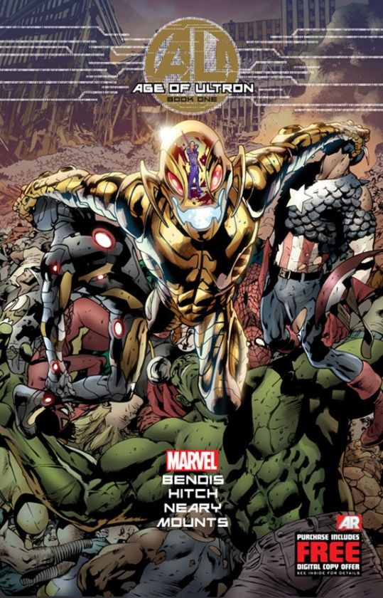 Portada de Age of Ultron 1