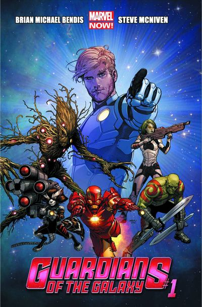 Portada de Guardians of the Galaxy #1