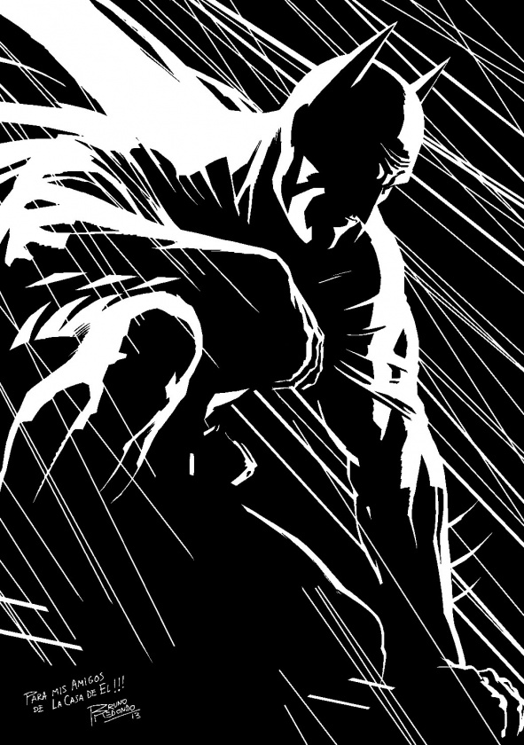 Batman por Bruno Redondo