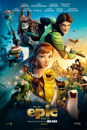 Epic 2013 film poster