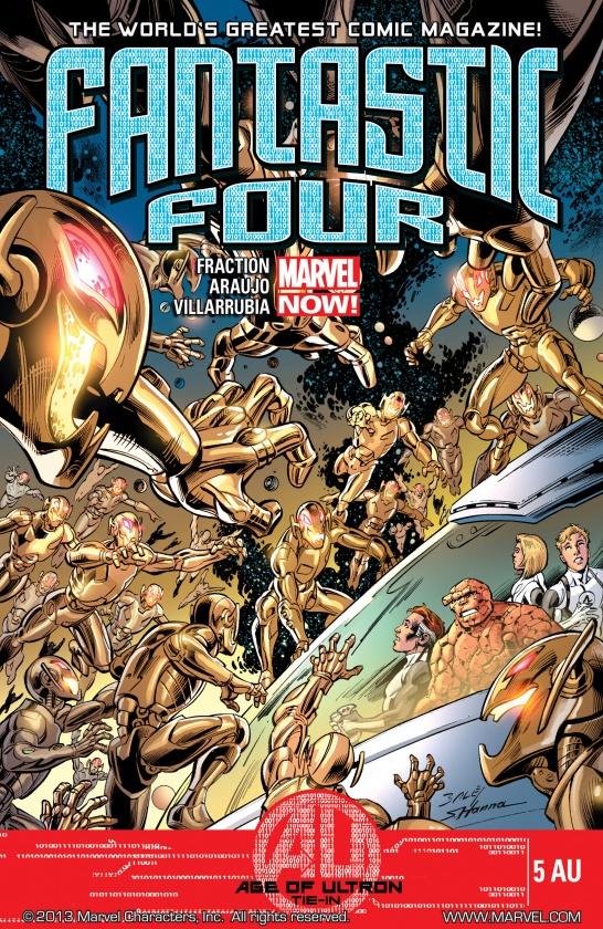 Portada de Fantastic Four #5AU
