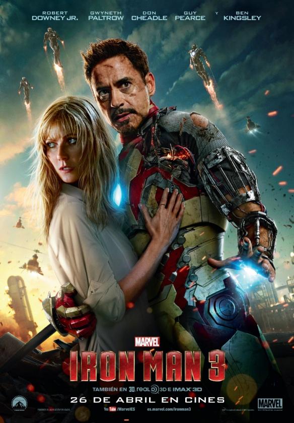 El último poster de Iron Man 3