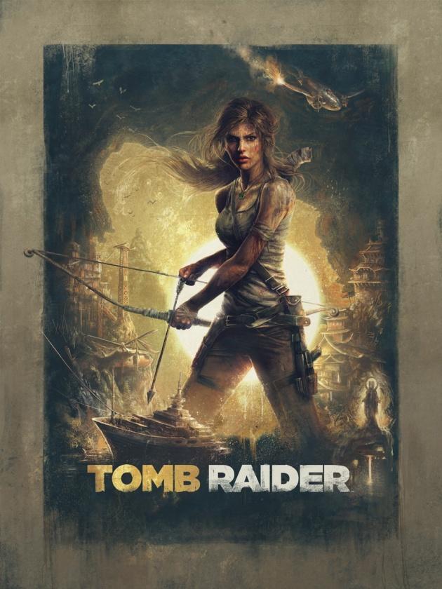 Tomb Raider Render Sam Spratt