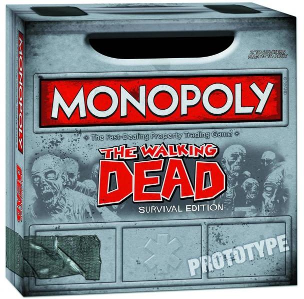 Walking Dead Comic Ed PX Monopoly 02