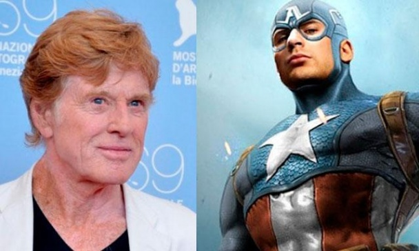 Robert Redford Capitán América