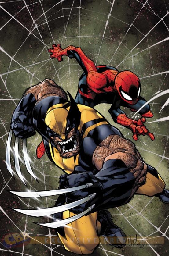 Lobezno Spider-Man