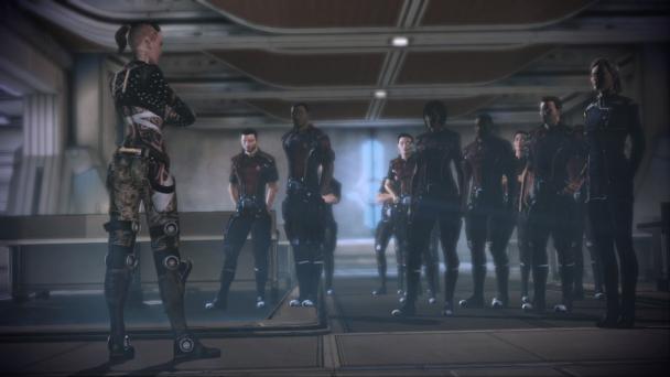 Jack como profesora: sólo para los jugadores de Mass Effect 2