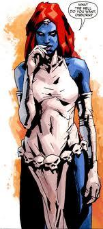 Mística, de X-Men, según Jock