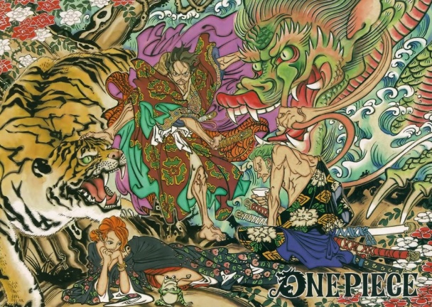 one-piece-color-spread-dragon-samurai-edo-zoro-nami