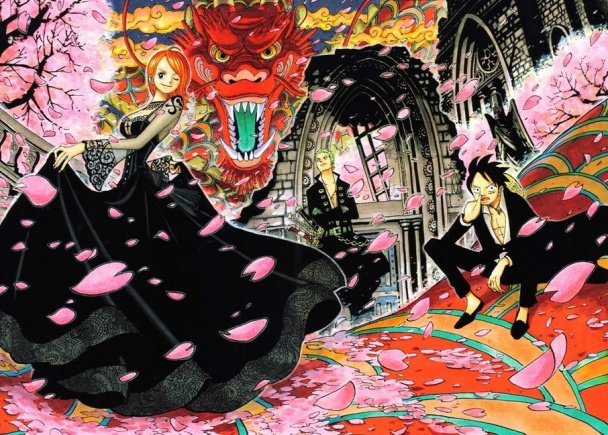 one-piece-color-spread-gotico-nami-zoro-luffy