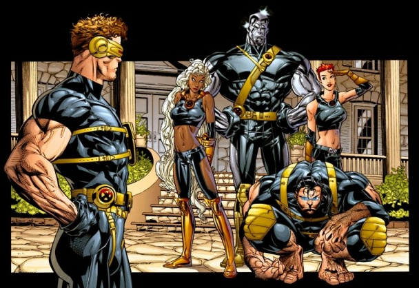 """Ultimate X-men"" Guion de Mark Millar y dibujos de Andy y Adam Kubert"