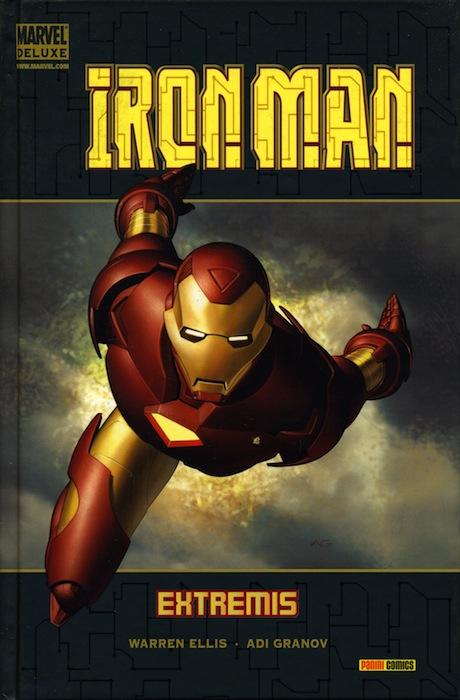 Portada de Marvel Deluxe: Iron Man - Extremis 1.5