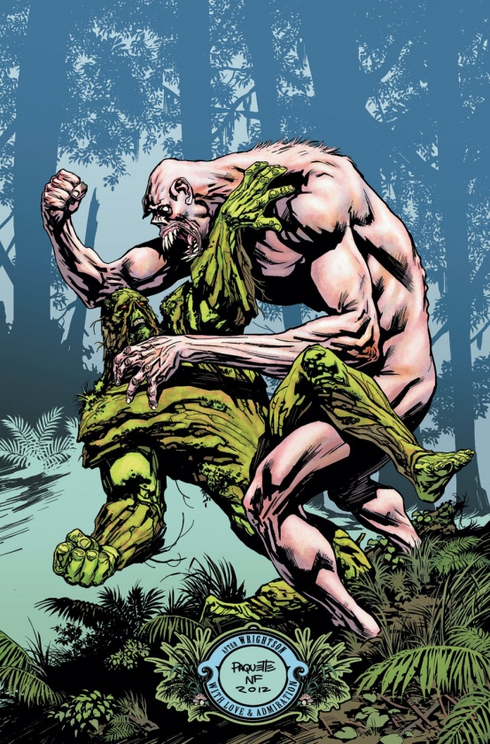 Swamp Thing de Yanick Paquette