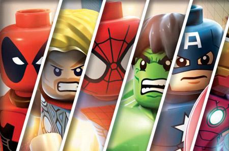 Primer vídeo de lego marvel super heroes