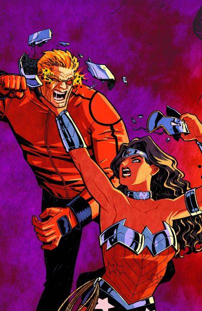 Portada de Wonder Woman #19