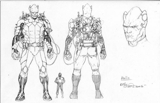 Hay un nuevo villano intergaláctico en la ciudad: Relic. De la misma forma que una nueva era empieza para Green Lantern, un nuevo mal se alza para plantarle cara.