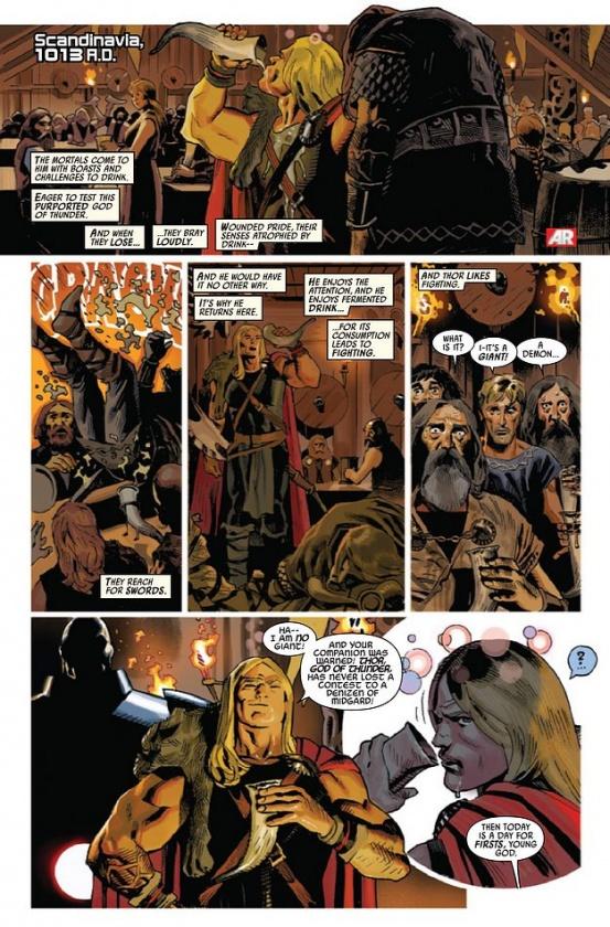 Página de Uncanny Avengers #6
