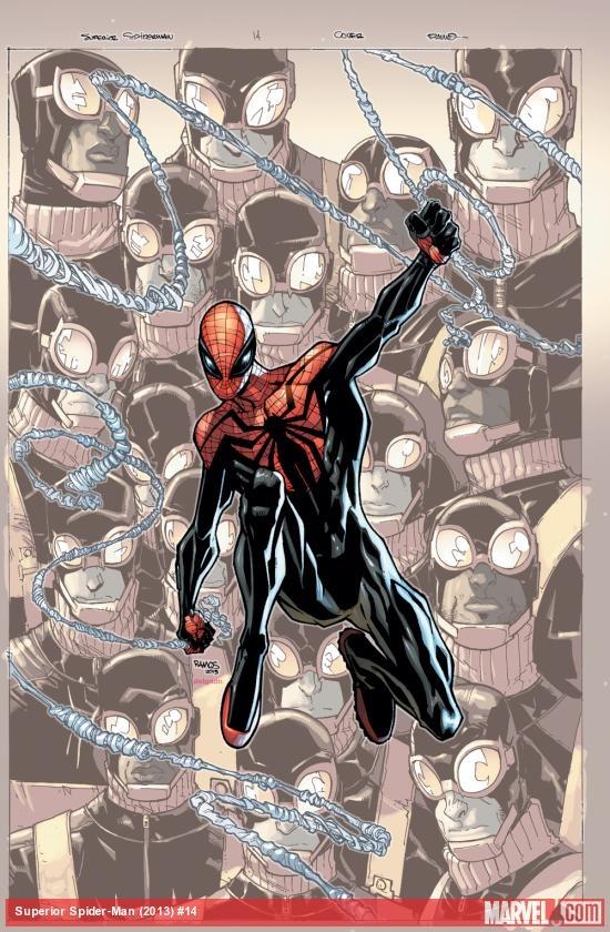 Portada de Superior Spider-Man #14