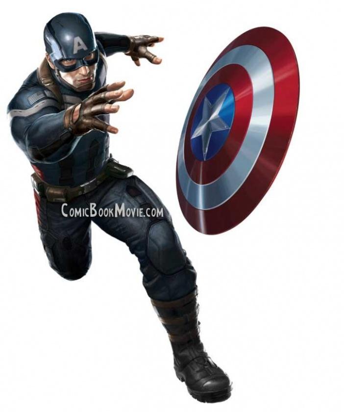 El nuevo traje del Capitán América