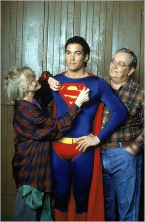 "Eddie Jones y K Callan en la serie ""Lois & Clark"""