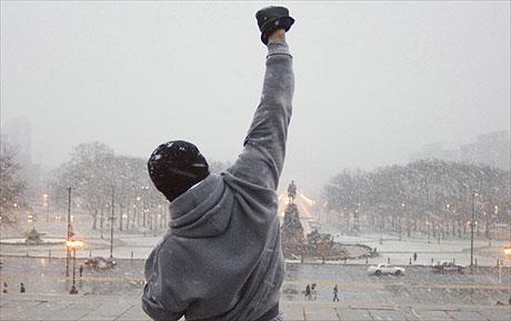 Escaleras de Rocky