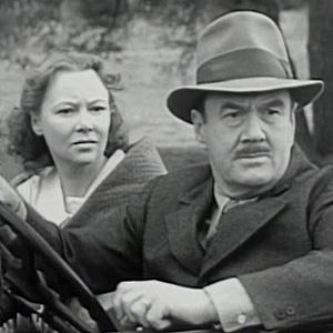 Virginia Carroll y Ed Cassidy como Martha y Eben Kent en la serie de Superman de 1948
