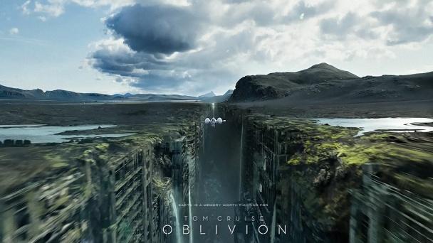 Oblivion-tom-cruise-paisaje-entre-edificios
