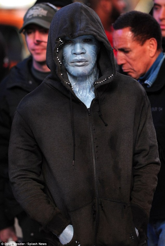 Asi lucirá Jamie Foxx como Electro