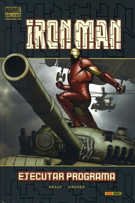 Portada de Marvel Deluxe: Iron Man - Ejecutar Programa