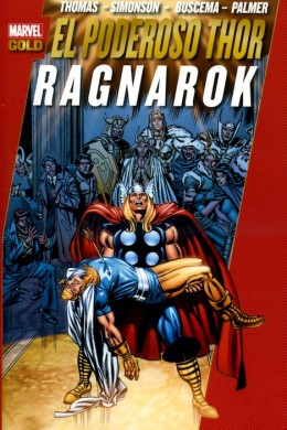 "Sorteo de ""Marvel Gold - El poderoso Thor: Ragnarok"""