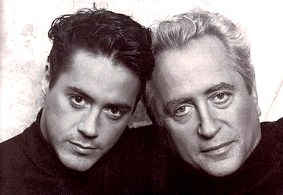 Robert Downey Jr. y Robert Downey Sr.
