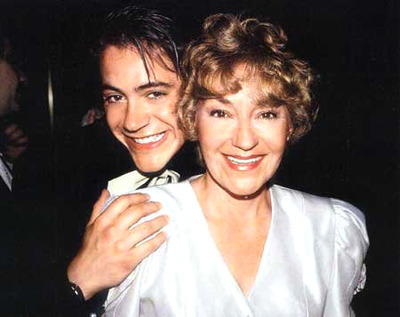 Downey Jr. y su madre Elsie
