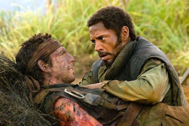 En Tropic Thunder junto a Ben Stiller