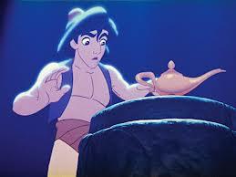 Aladdin y lampara