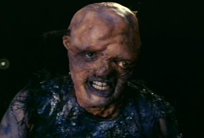Melvin, tras su baño. Ahora sí se parece más a Terminator