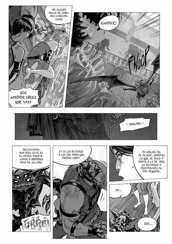 Página en blanco y negro