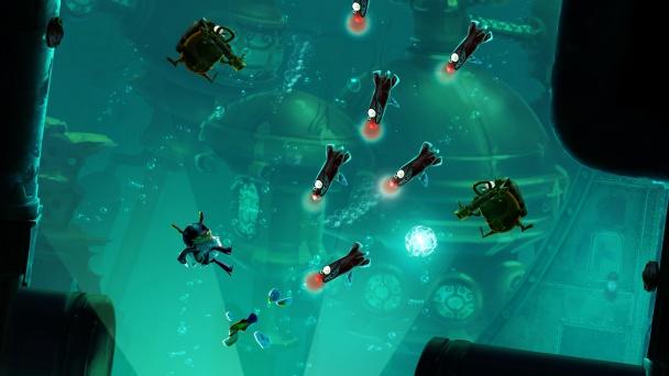 Rayman Legends 20000 lums de viaje submarino 1