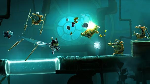 Rayman Legends 20000 lums de viaje submarino 2