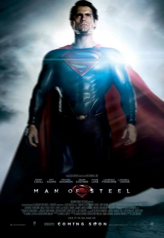 Póster de Superman de El hombre de Acero