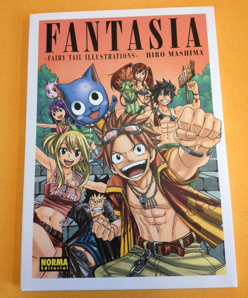 """Por fin el artbook de """"Fairy Tail"""""""