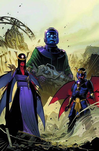 Portada de Uncanny Avengers #8AU