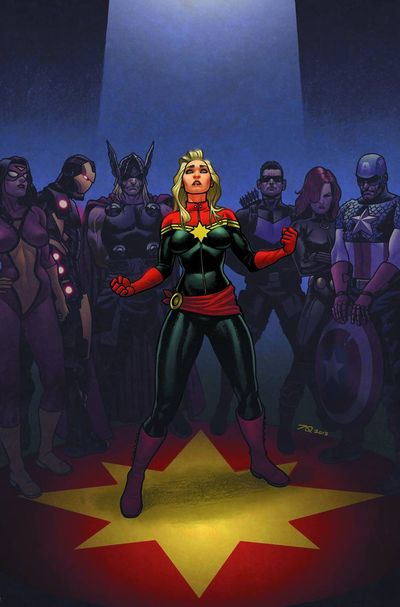 Portada de Avengers: Enemy Within #1