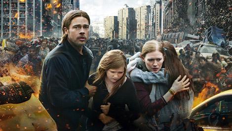new poster world war Z
