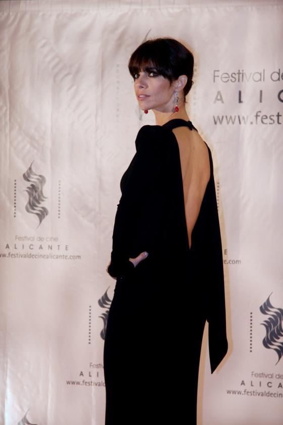 Maribel Verdú posa antes de la Gala