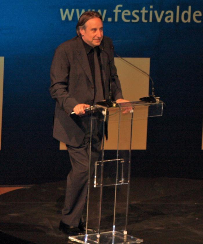 Juanjo Puigcorbé fue llamado al escenario sin estar planeado